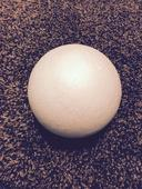 Polystyrenová koule - 10 cm/ 15 cm/ 20 cm,
