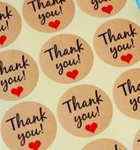 Thank you - samolepky,