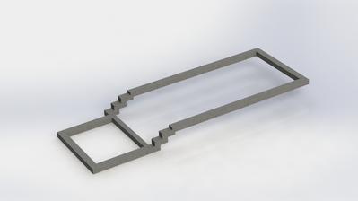 Vypocet mnozstva betonu pre zakladove pasy si trosku zjednodusim vymodelovanim v Solidworks :) - 19m3