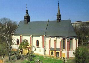 kostel Všech svatých v Plzni na Roudné