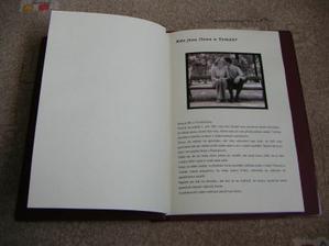 jedna ze stránek Svatební knihy