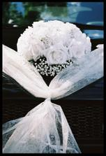 možna na auto nevěsty - jestli to půjde...