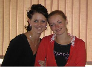 já a Lenka, moje kadeřnice