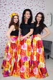 Olivia Glamour kvetovaná sukňa