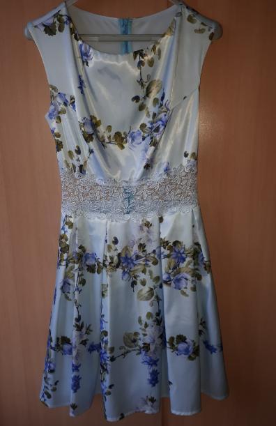 Kvietkované spoločenské šaty - Obrázok č. 2