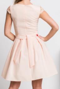 Marhuľové spoločenské šaty - Obrázok č. 4
