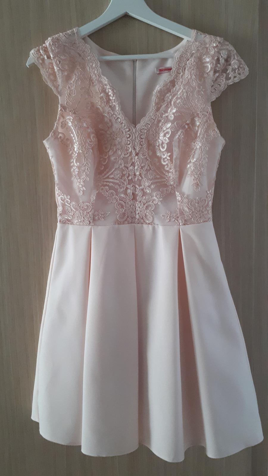Marhuľové spoločenské šaty - Obrázok č. 2