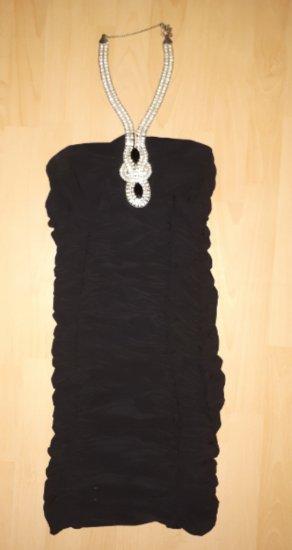 Mini čierne koktejlové šaty - Obrázok č. 1