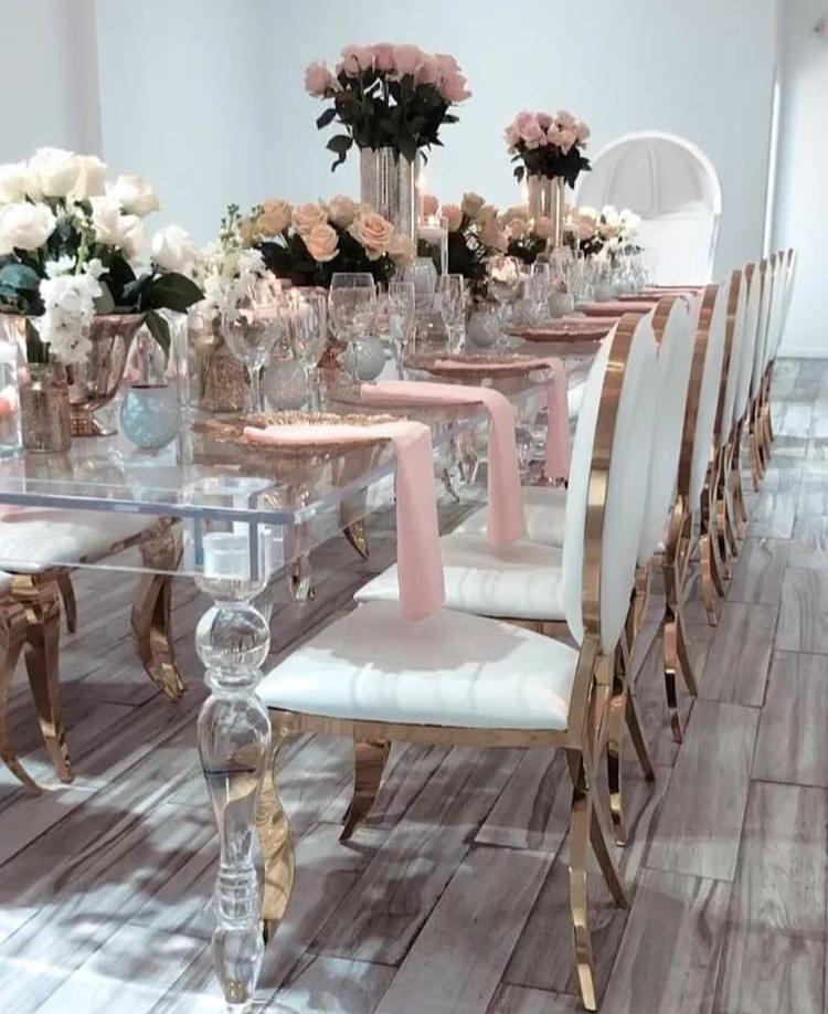 Chiavari stolickY, ghost stolicky, okrúhle stoly, dekoracie - Obrázok č. 1