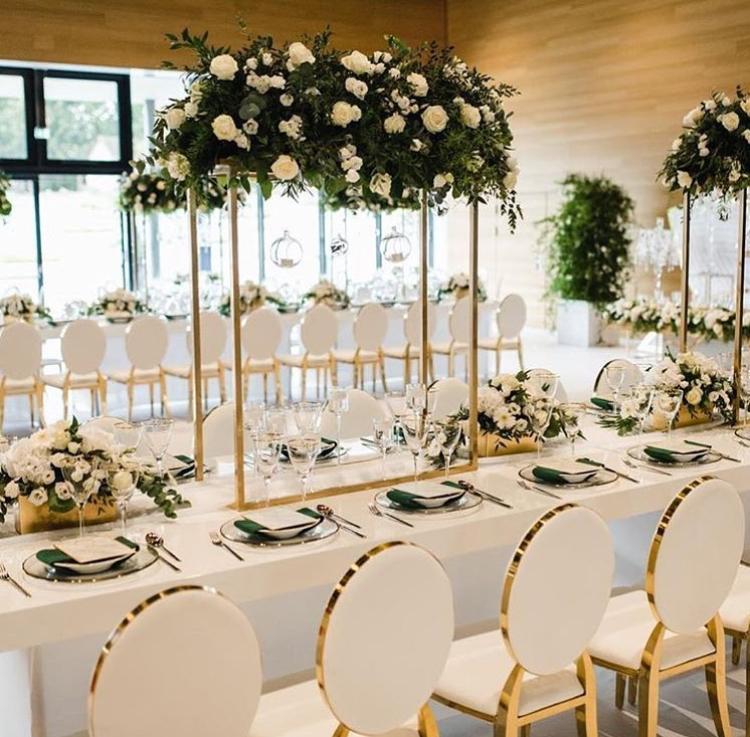 Svadba ako z rozprávky?nie je problém, luxusné bielozlaté kované ghost dodajú vašej svadbe ten správny šmrnc - Obrázok č. 3