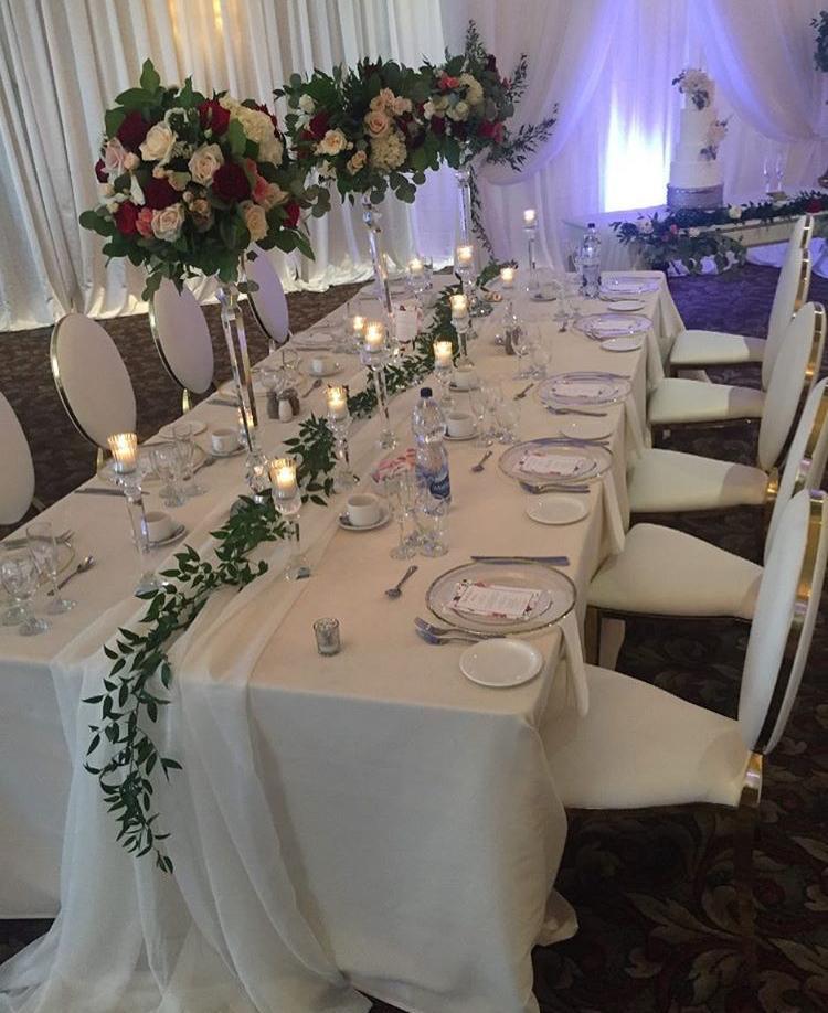 Svadba ako z rozprávky?nie je problém, luxusné bielozlaté kované ghost dodajú vašej svadbe ten správny šmrnc - Obrázok č. 6