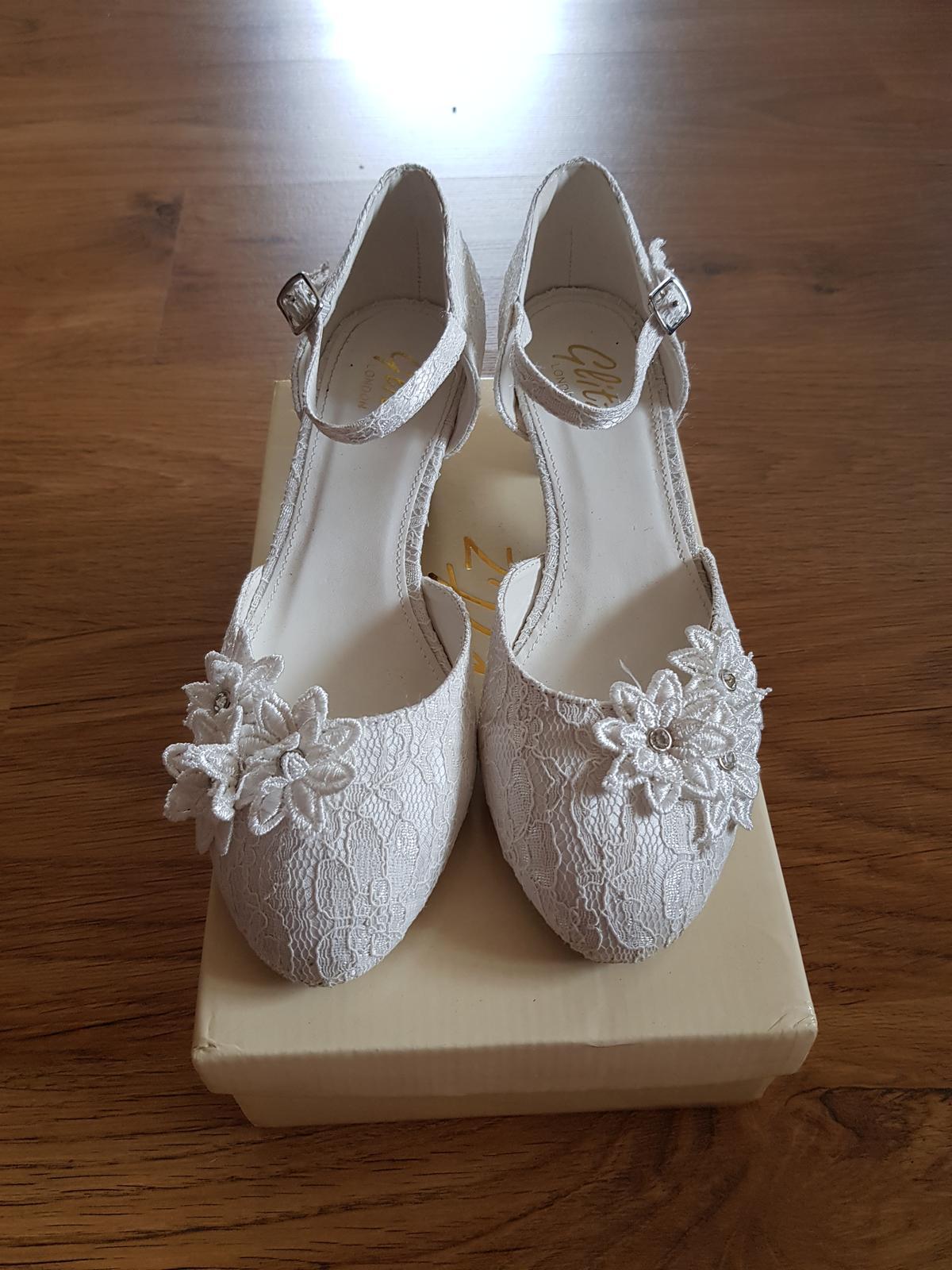 Svatební boty ivory - Obrázek č. 3