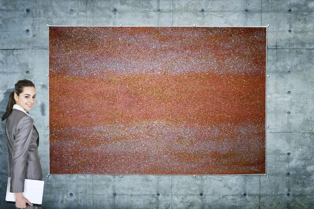 Obraz - Galaxie Orange - 70cm x 50cm - Obrázok č. 1