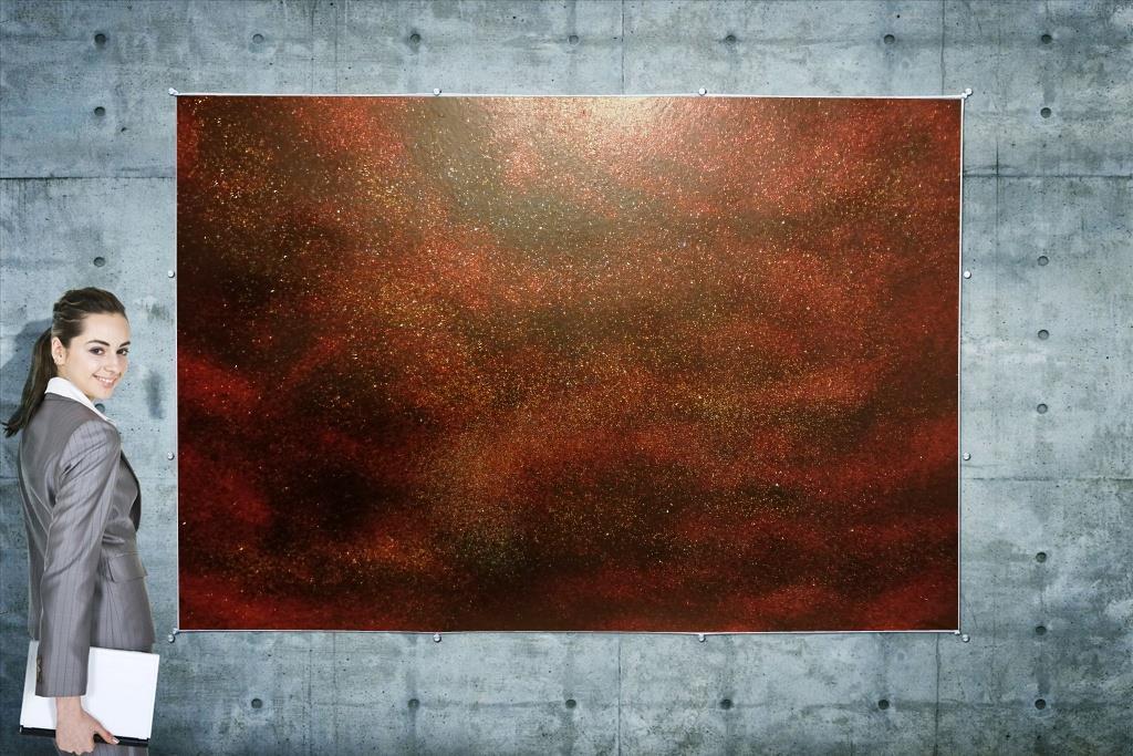 Obraz - Galaxia Black - 70cm x 50cm - Obrázok č. 1