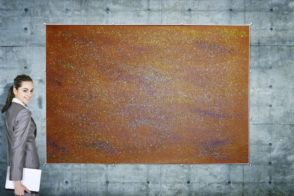 Obraz - Orange Galaxie mini - 60cm x 40cm - Obrázok č. 1