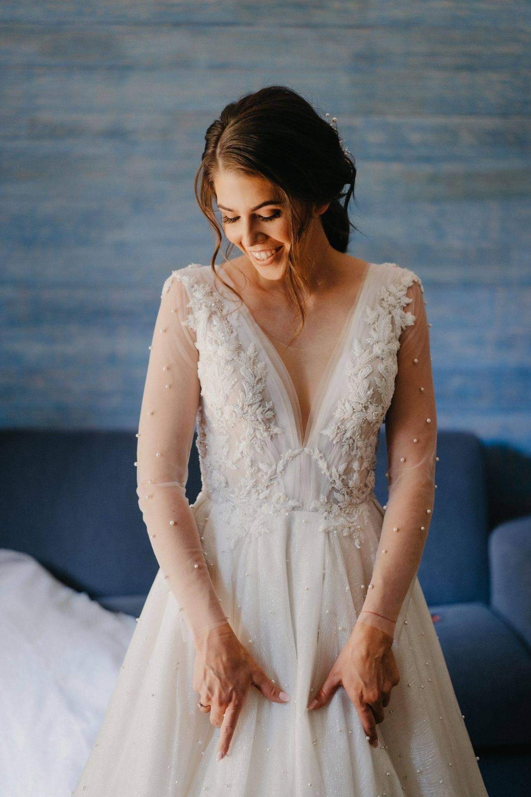 Svadobné šaty TIANA - Obrázok č. 4