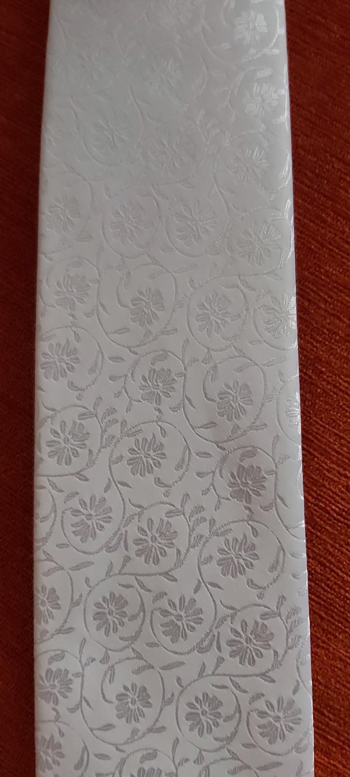 svadobná kravata+servítka - Obrázok č. 3