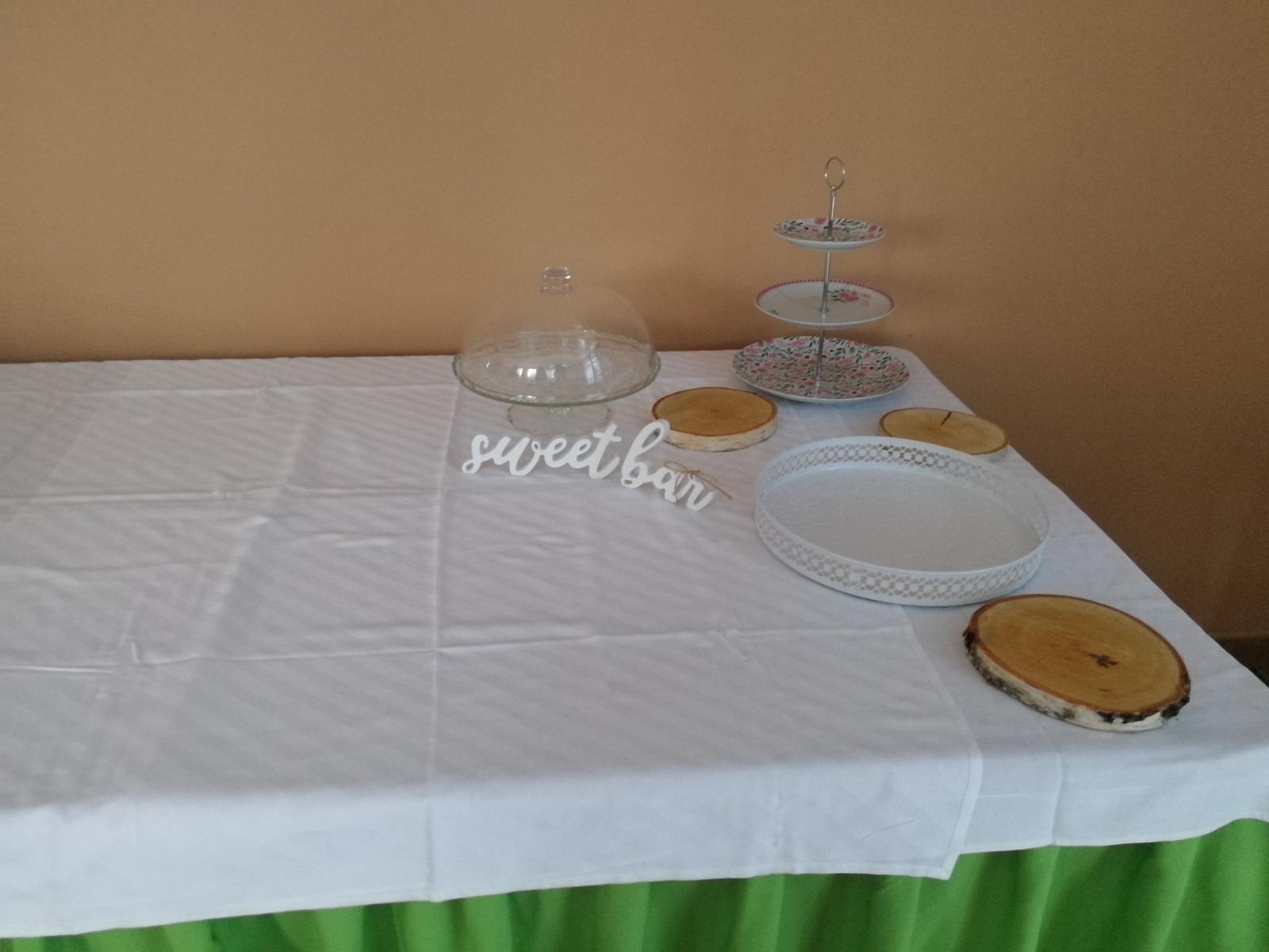 Svatební dekorace na stůl - Obrázek č. 4