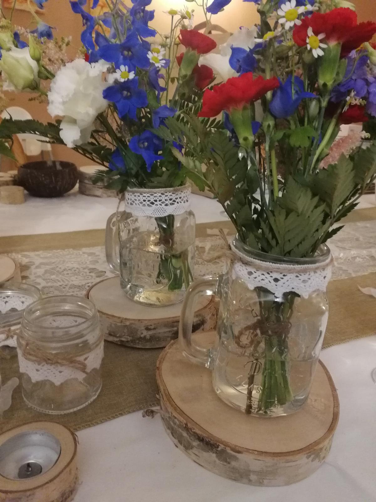 Vázy ze sklenic na pití - Obrázek č. 1