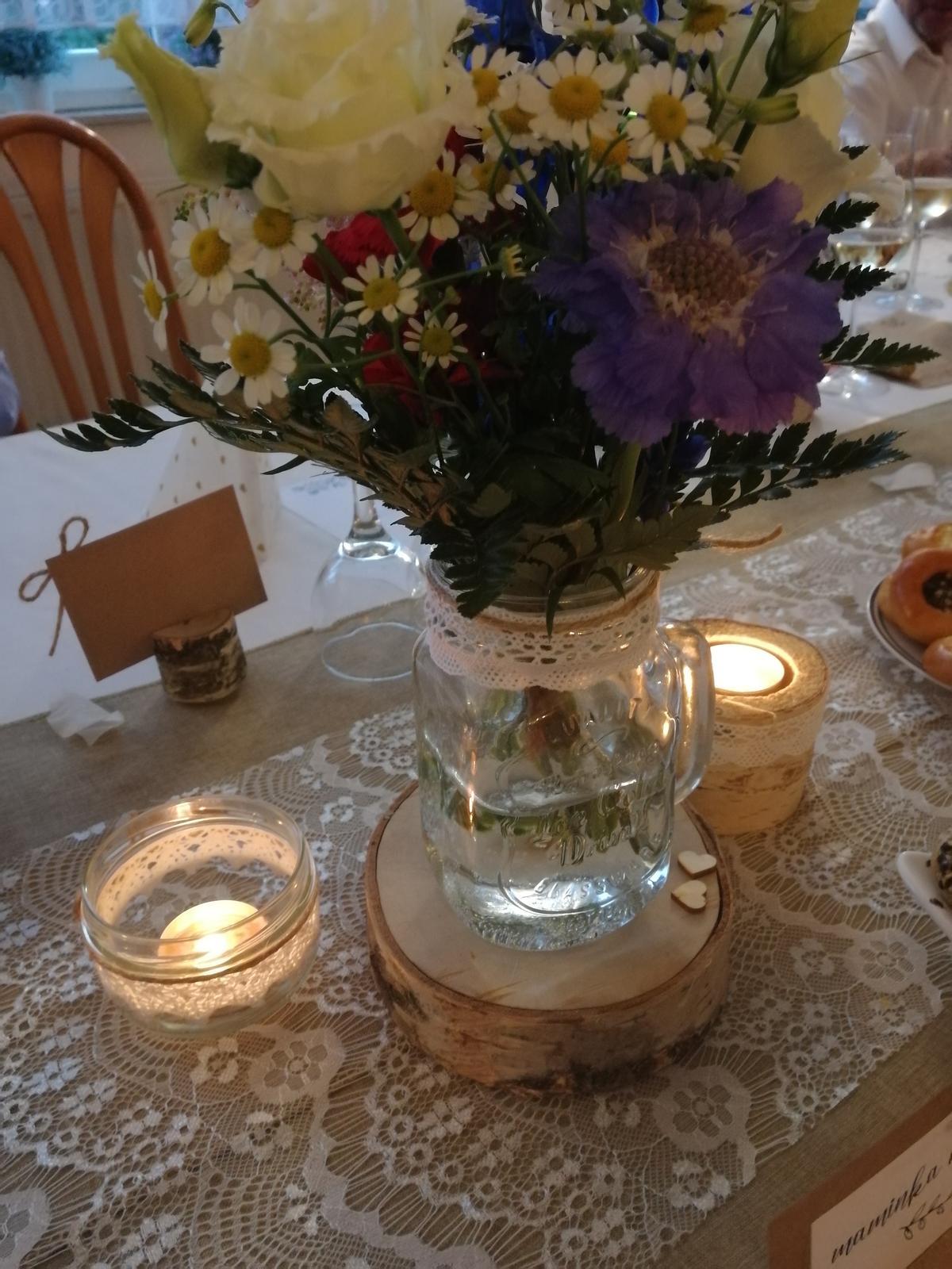 Vázy ze sklenic na pití - Obrázek č. 2
