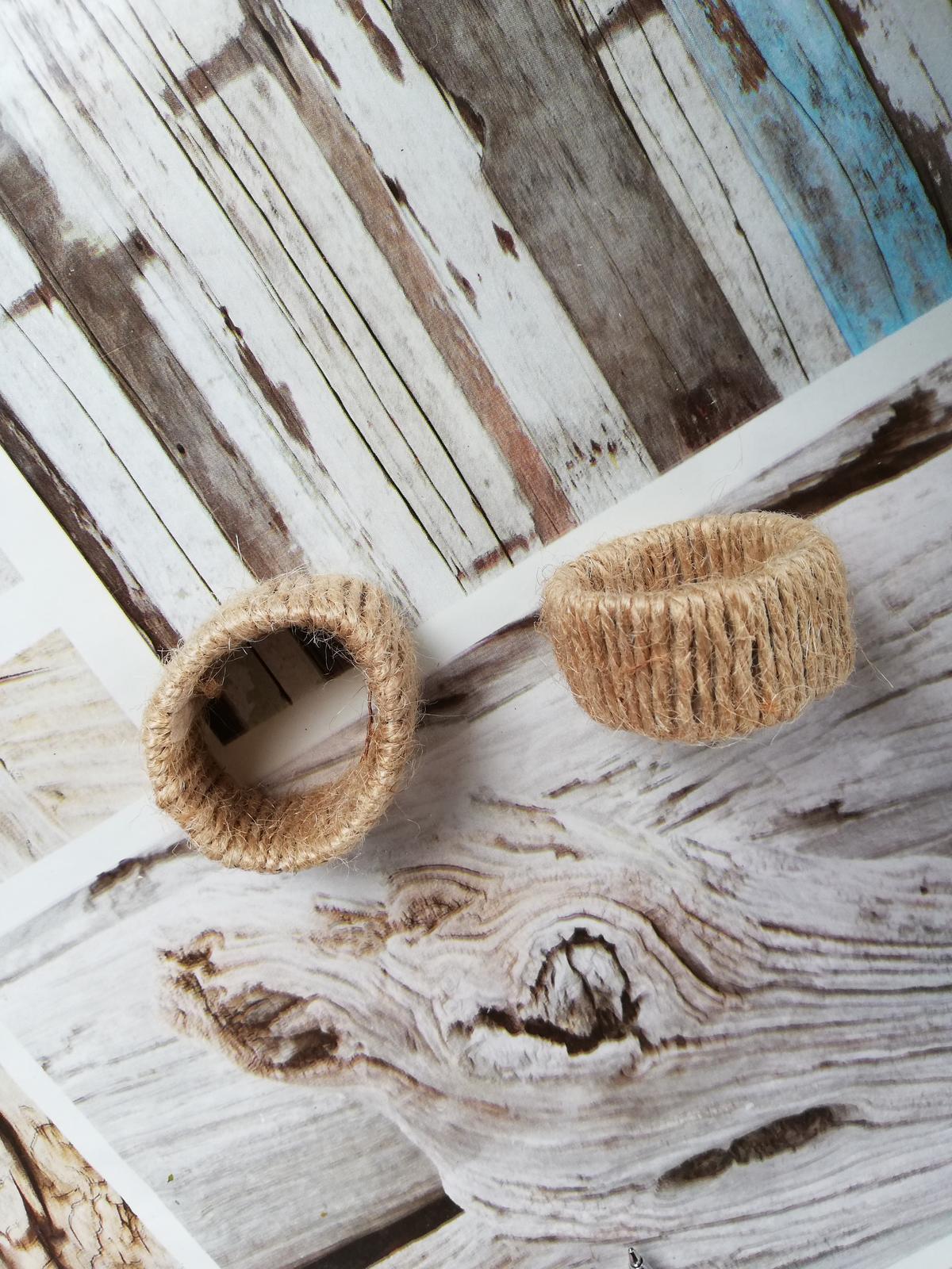 Kroužky na ubrousky - 33x - Obrázek č. 1
