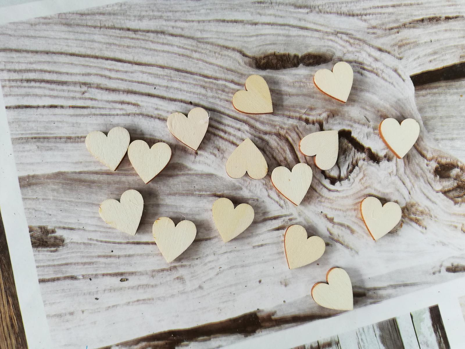Dřevěná srdíčka - Obrázek č. 2