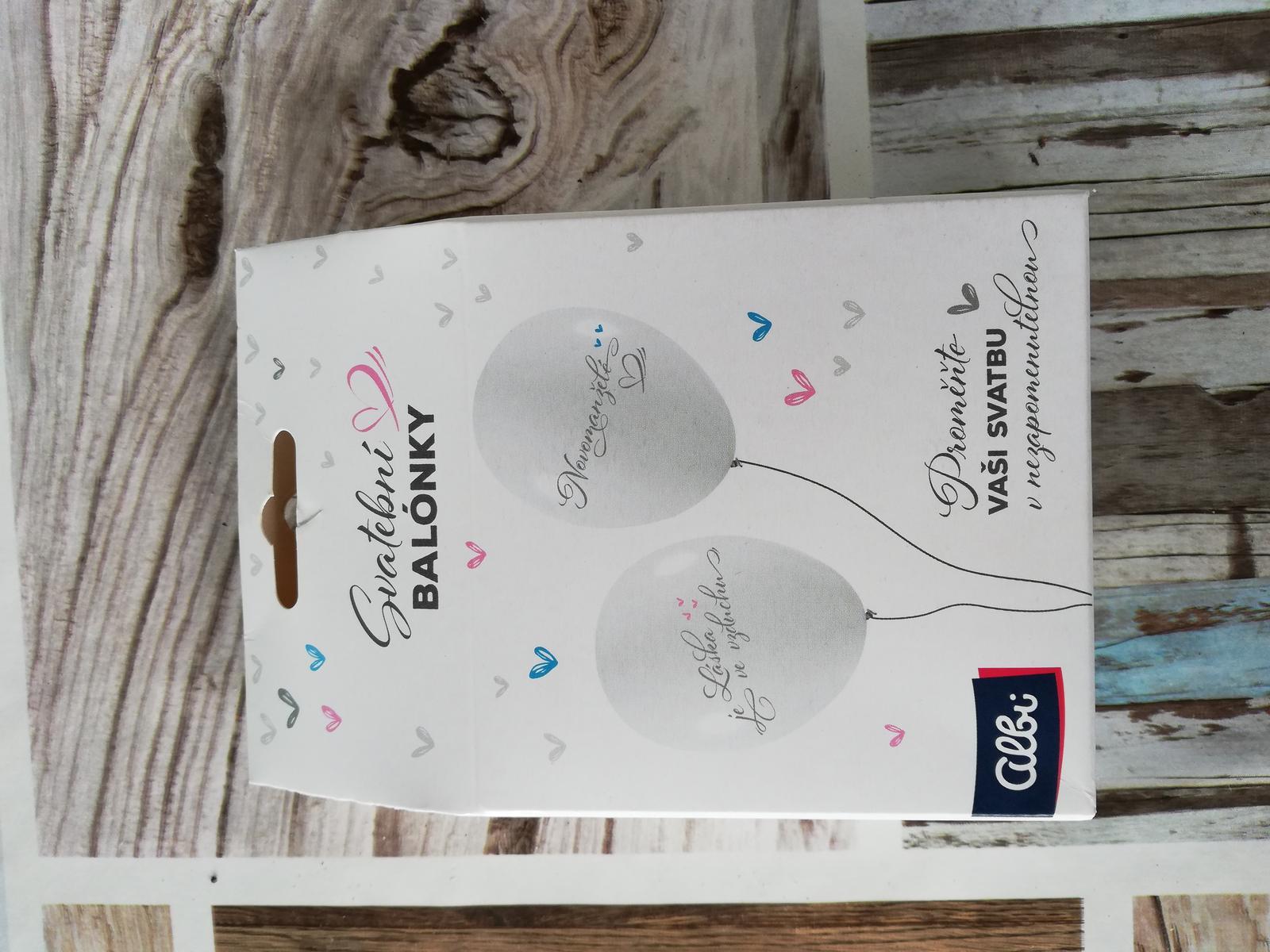 Svatební balónky - Obrázek č. 1