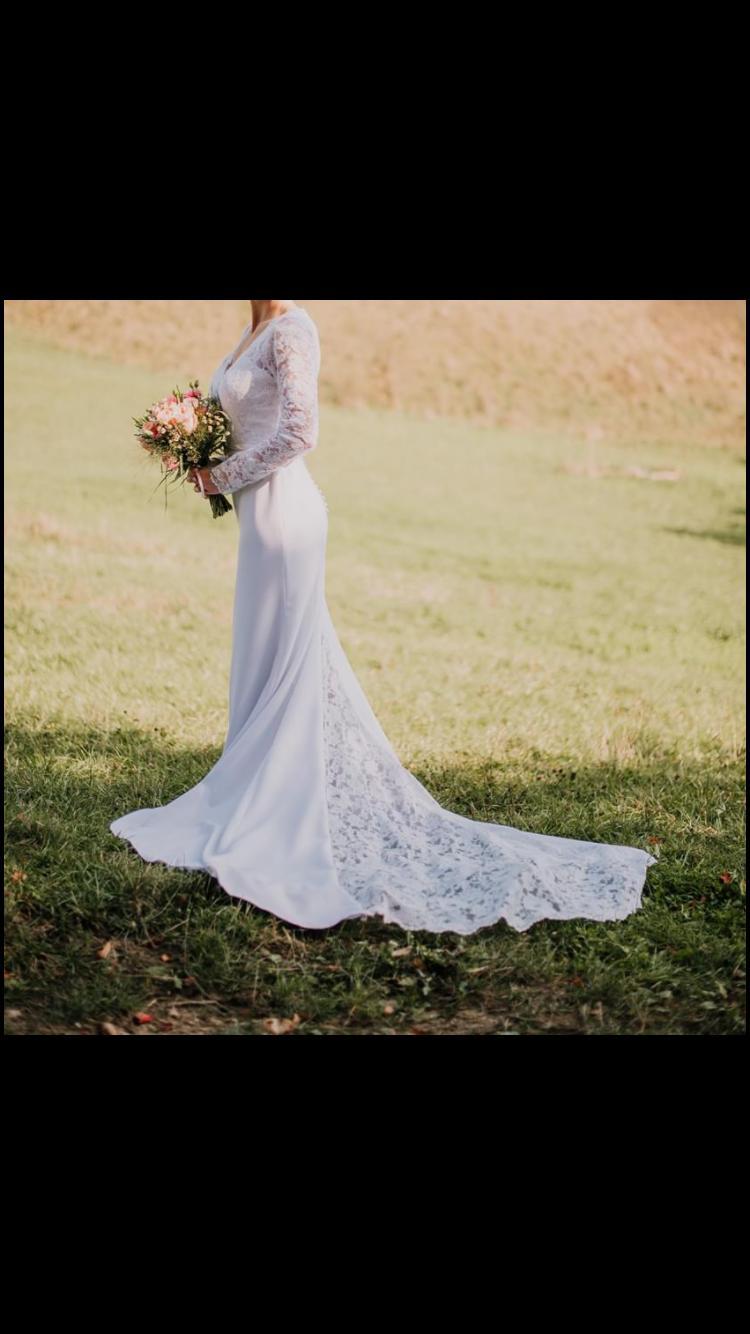 svadobné šaty na predaj - Obrázok č. 3