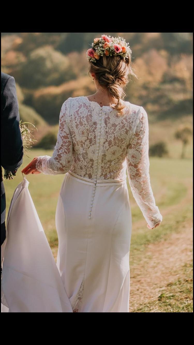svadobné šaty na predaj - Obrázok č. 4