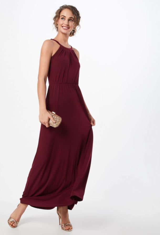 Svatební přípravy - Šaty, které si vybraly družičky :) Svatba bude laděna do bordó barvy.