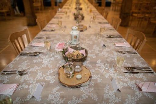 Svatební přípravy - Krajkový ubrus zamluvený :)