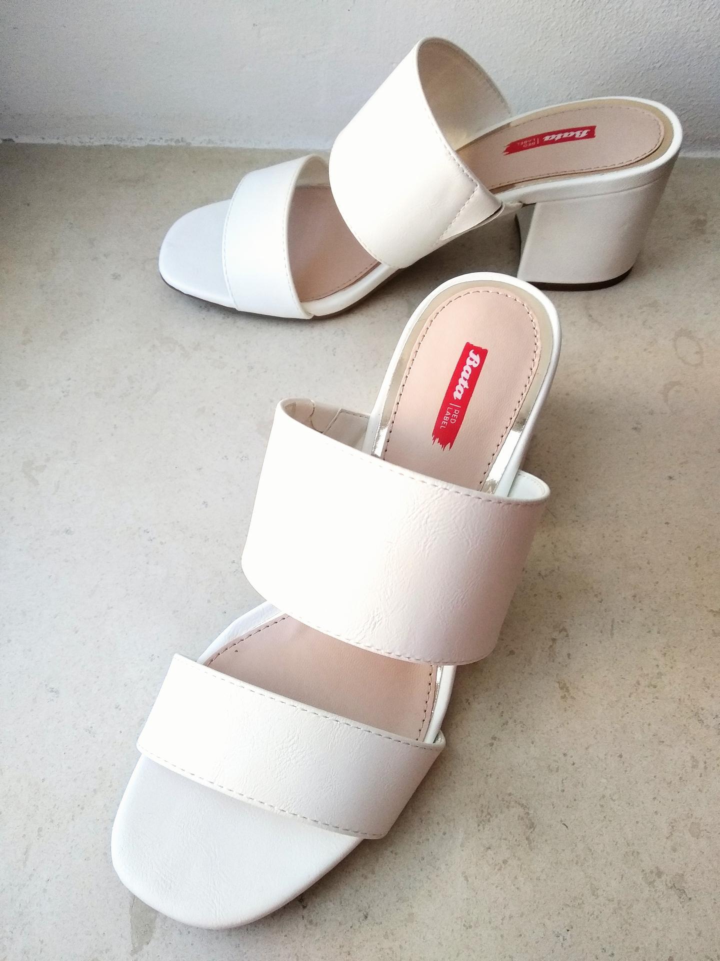 Svatební přípravy - Nesmírně pohodlné boty, které budu mít během dne.