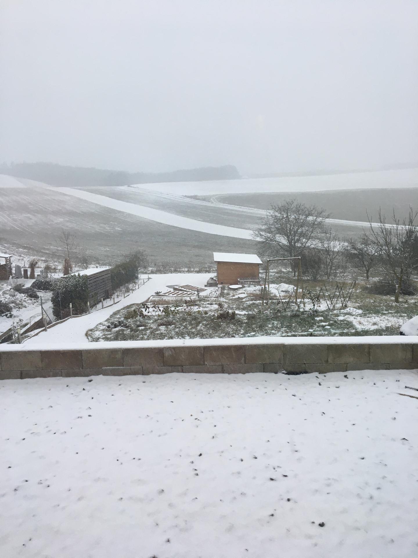 Skřítčí zahrada 2015 - 2020 - Prosinec 2020 - nasněžilo