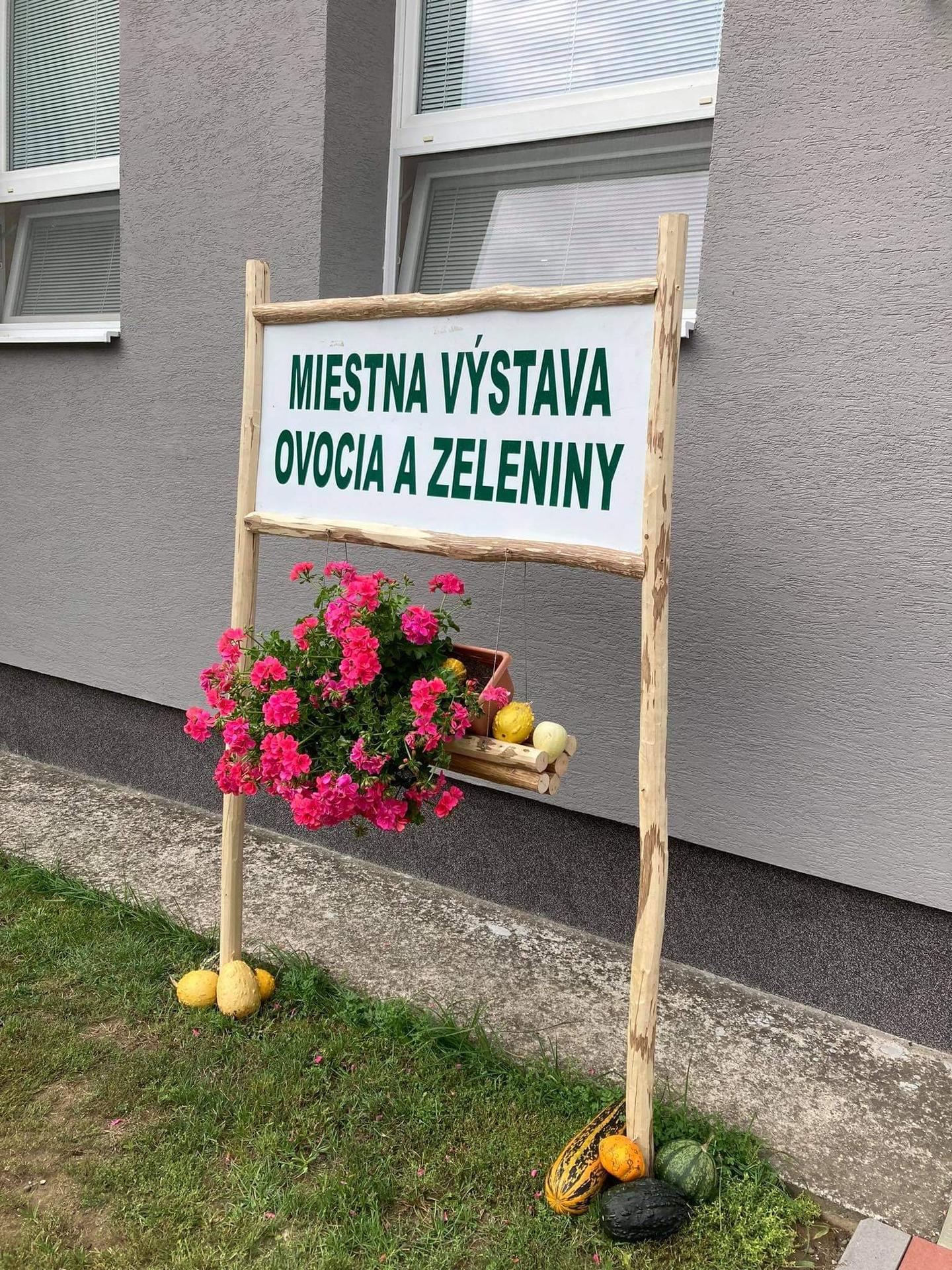 Výstava ovocia, zeleniny a kvetov Dvorianky 2021