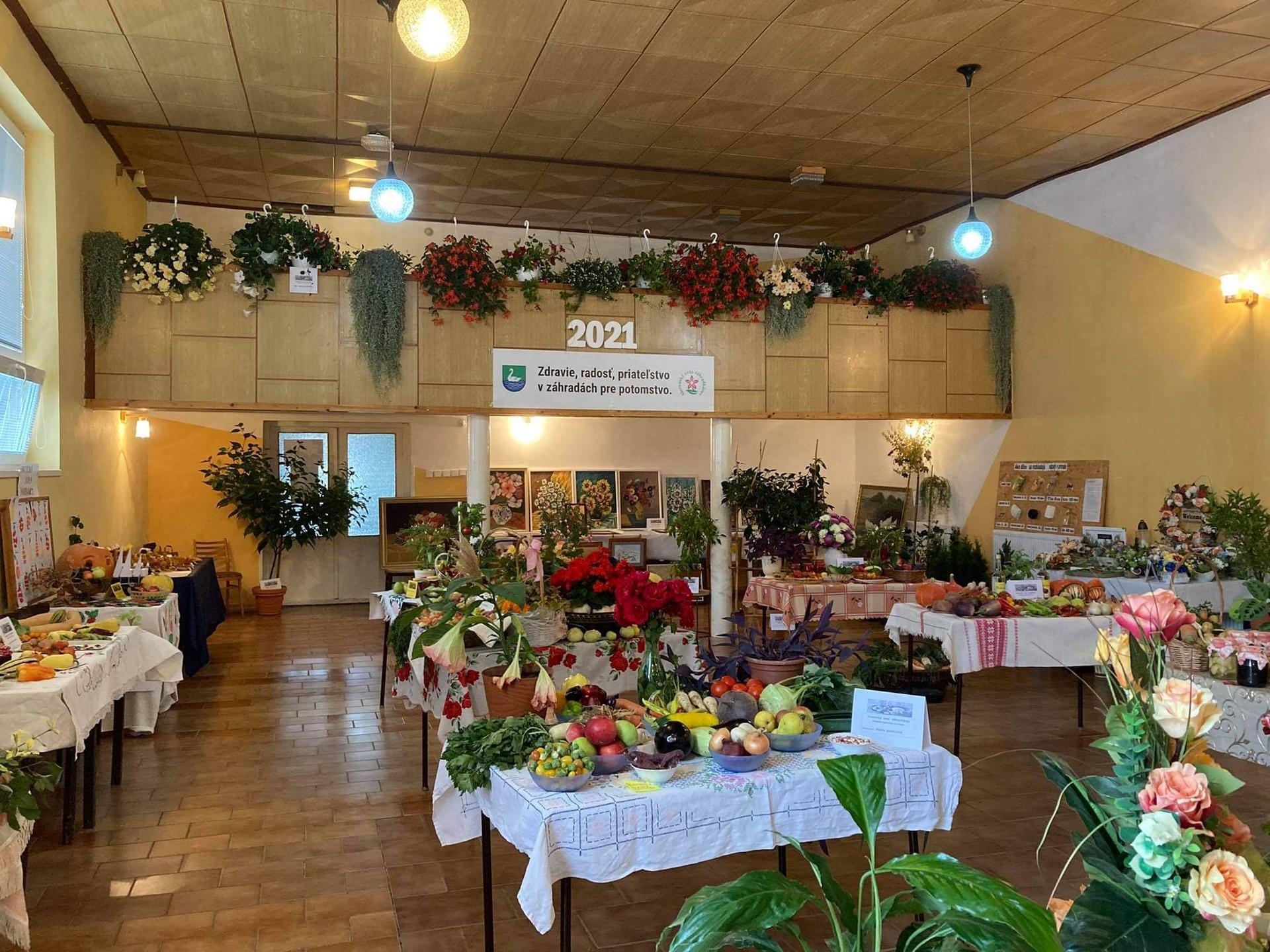 Výstava ovocia, zeleniny a kvetov Dvorianky 2021 - Obrázok č. 2