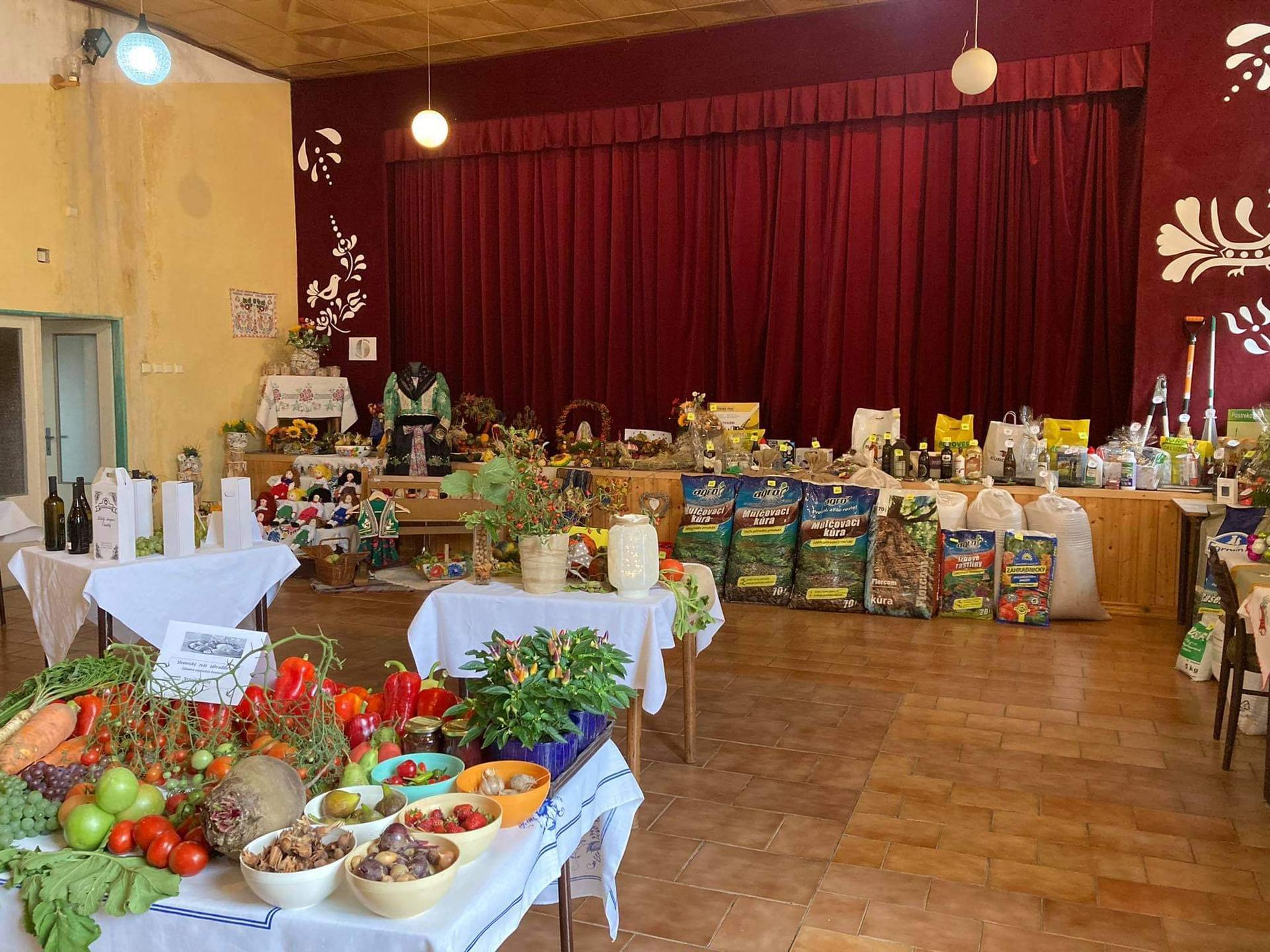Výstava ovocia, zeleniny a kvetov Dvorianky 2021 - Obrázok č. 3