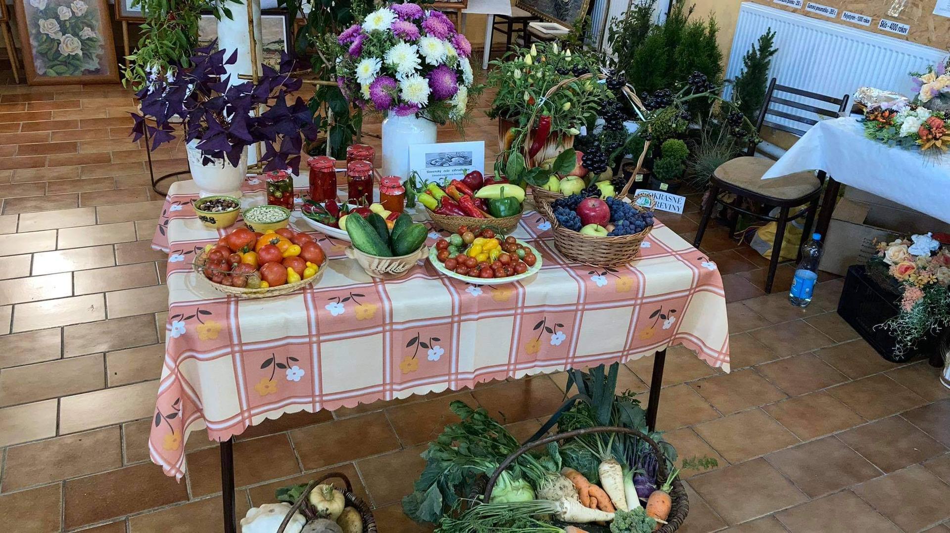 Výstava ovocia, zeleniny a kvetov Dvorianky 2021 - Obrázok č. 8