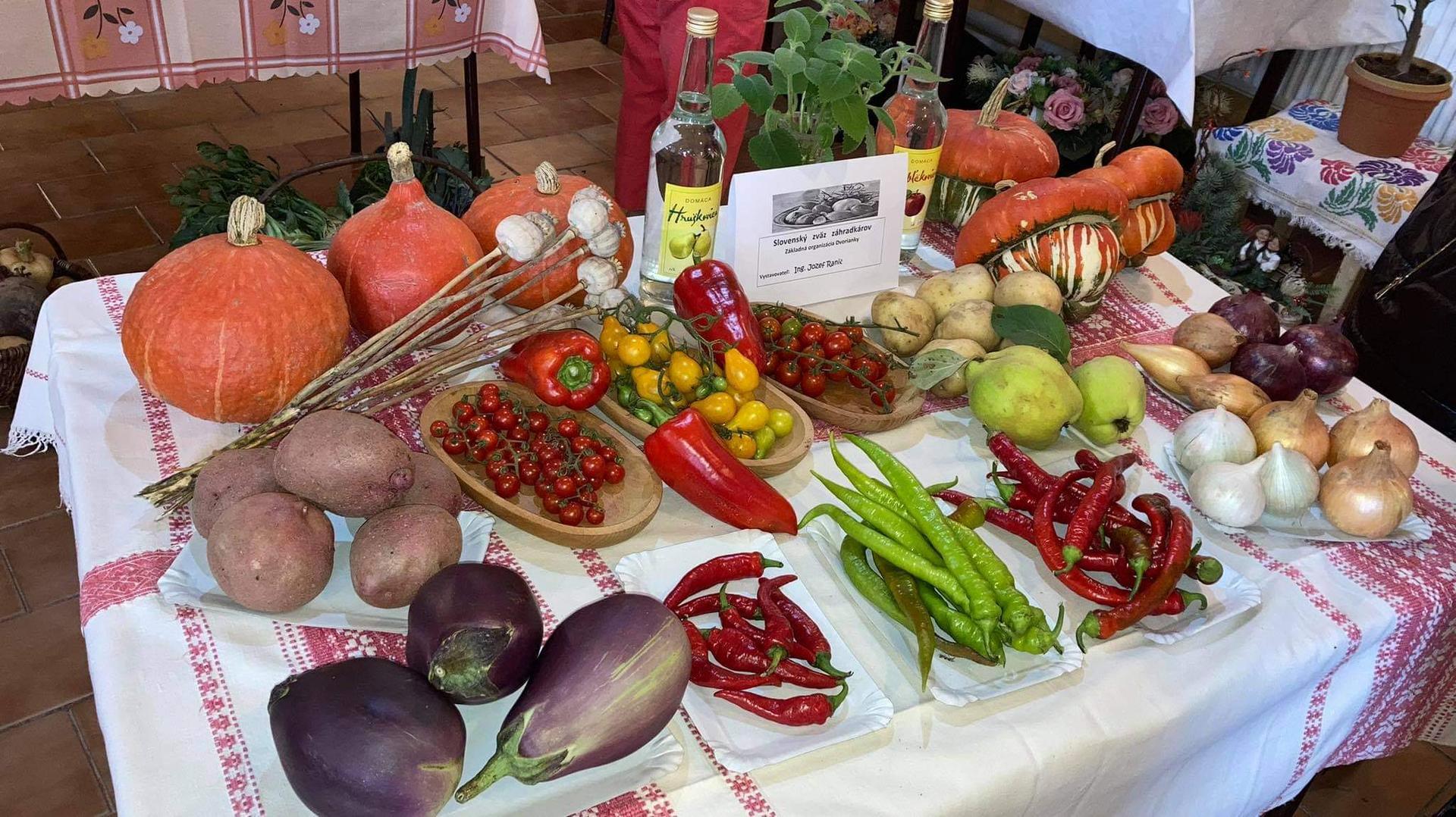 Výstava ovocia, zeleniny a kvetov Dvorianky 2021 - Obrázok č. 13