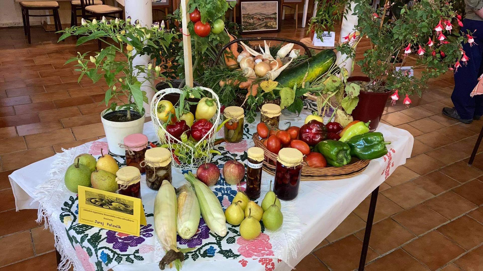 Výstava ovocia, zeleniny a kvetov Dvorianky 2021 - Obrázok č. 14