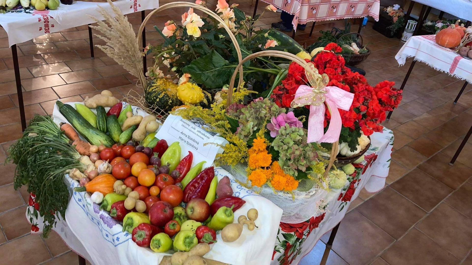 Výstava ovocia, zeleniny a kvetov Dvorianky 2021 - Obrázok č. 15