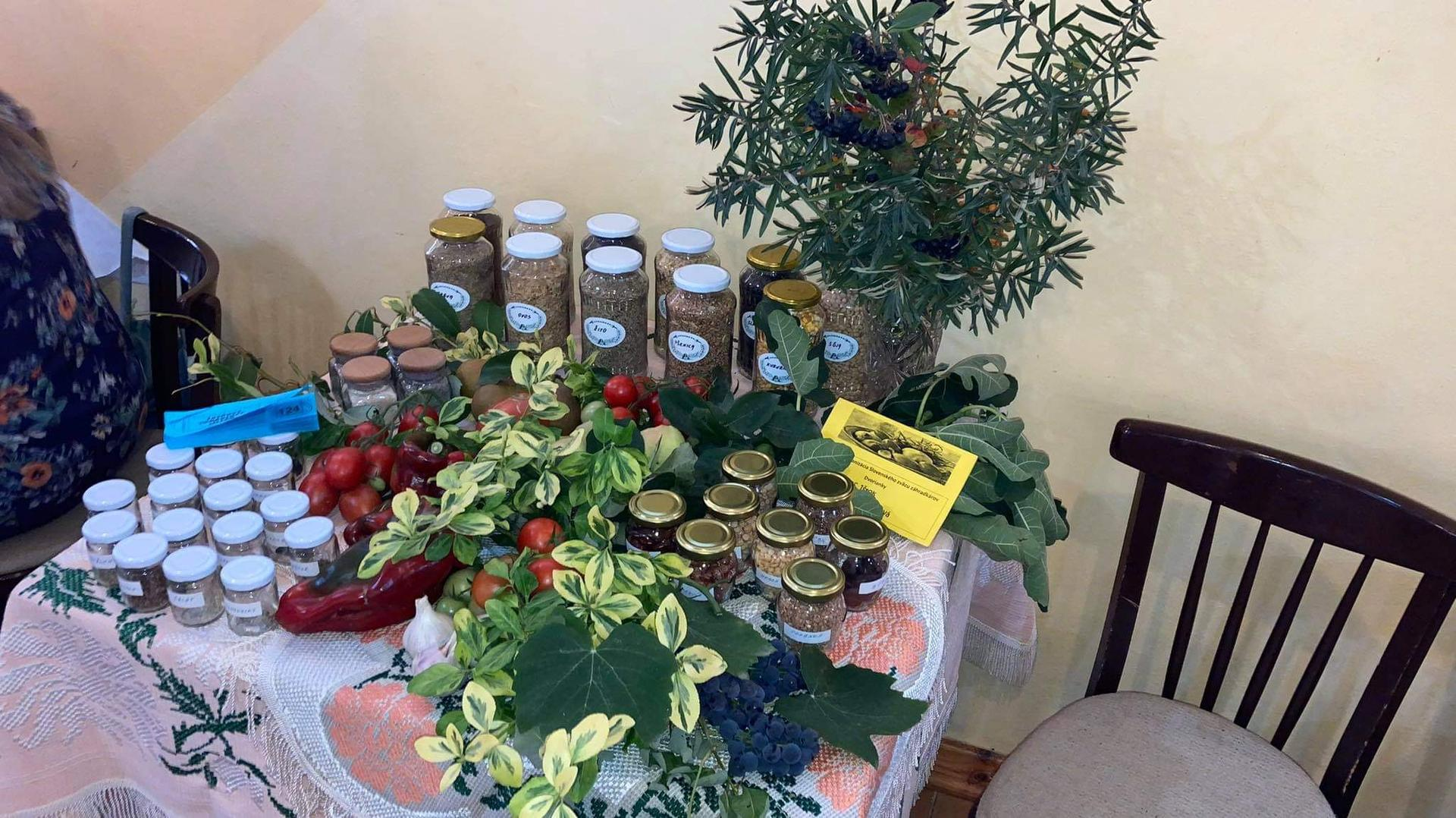 Výstava ovocia, zeleniny a kvetov Dvorianky 2021 - Obrázok č. 17