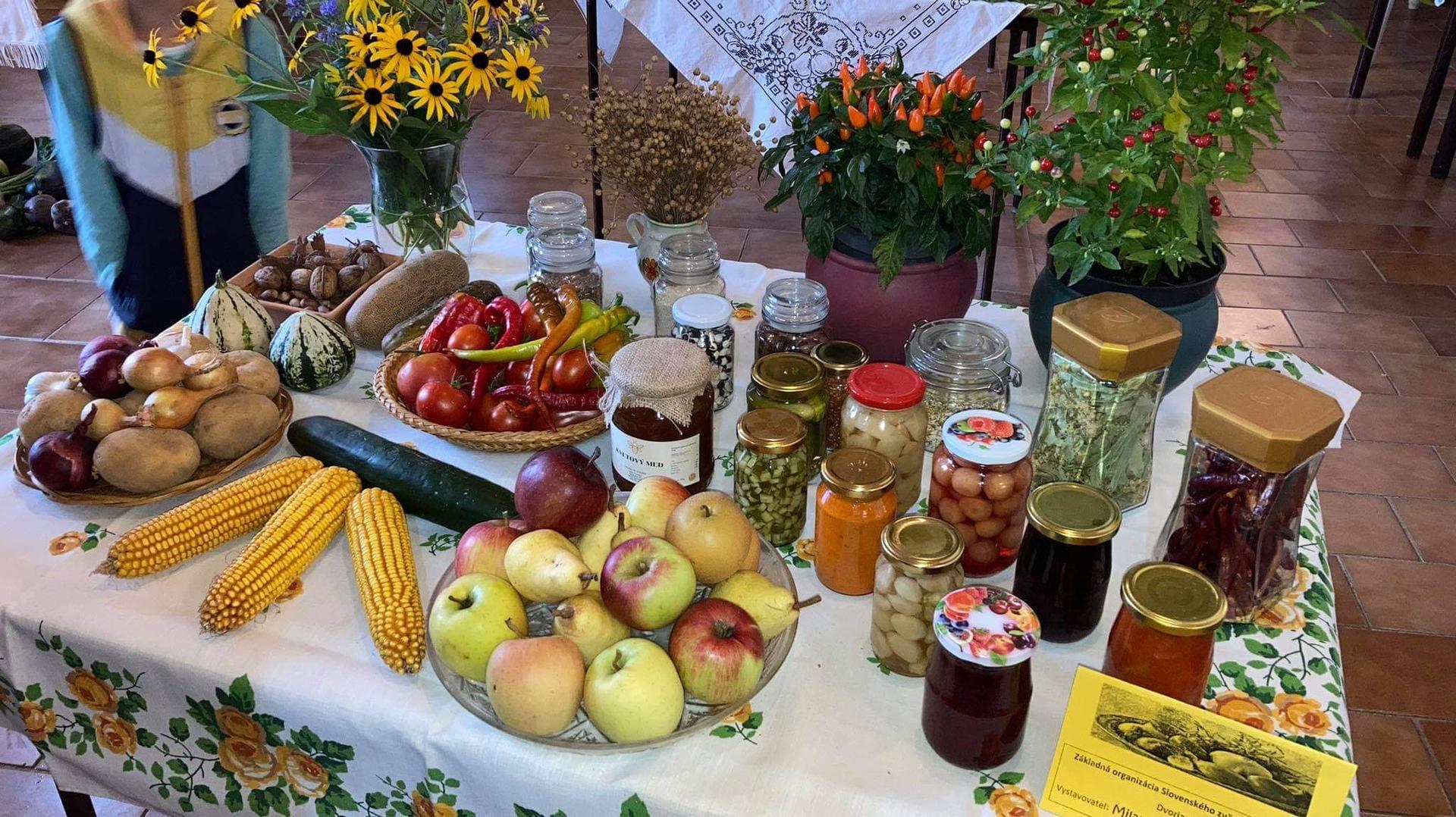 Výstava ovocia, zeleniny a kvetov Dvorianky 2021 - Obrázok č. 21