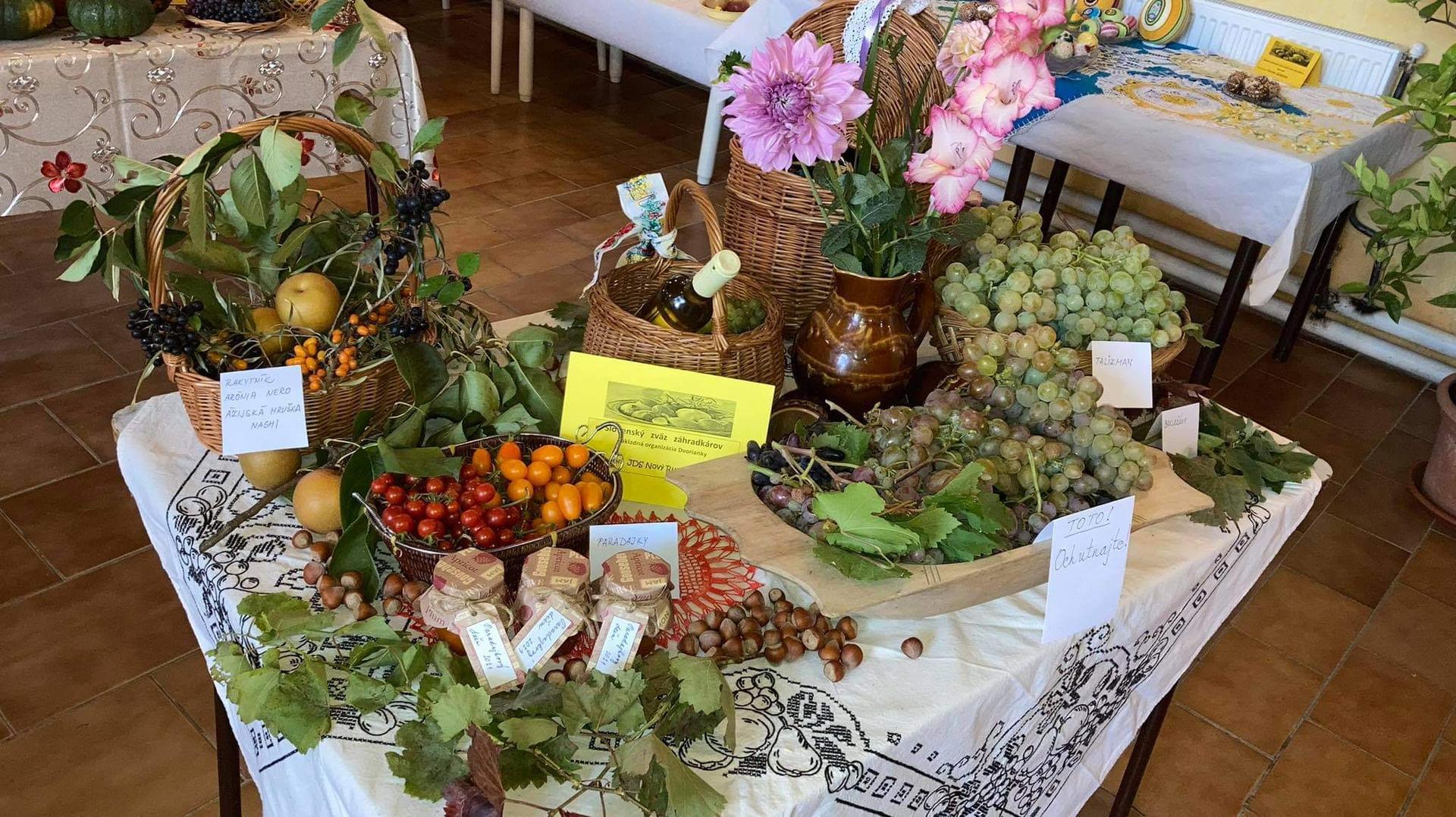 Výstava ovocia, zeleniny a kvetov Dvorianky 2021 - Obrázok č. 23