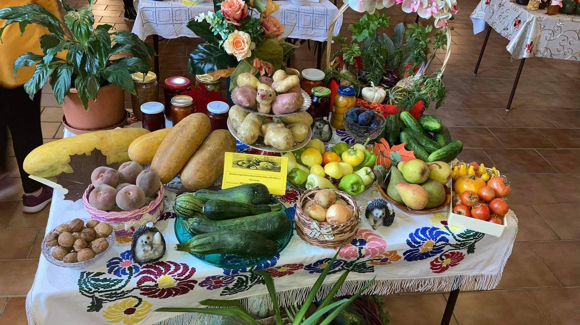 Výstava ovocia, zeleniny a kvetov Dvorianky 2021 - Obrázok č. 24