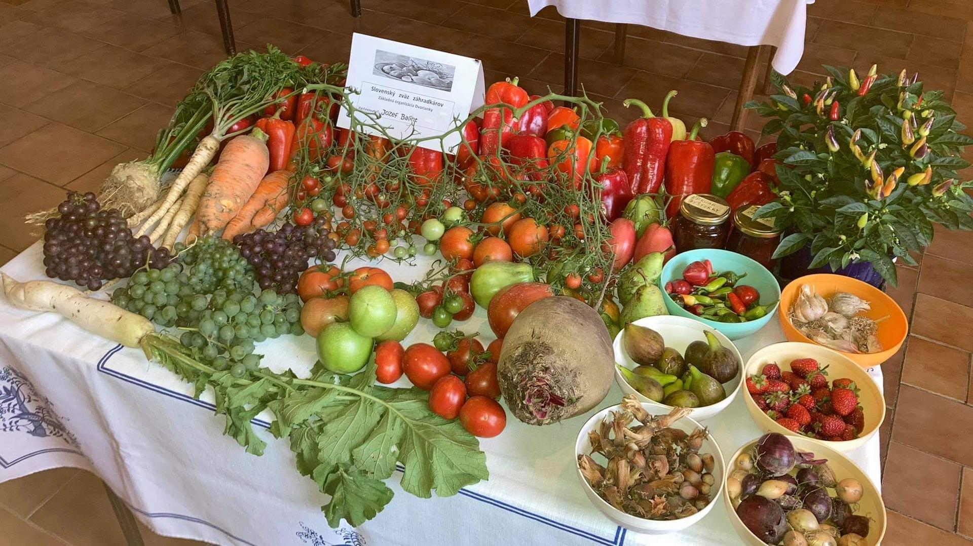 Výstava ovocia, zeleniny a kvetov Dvorianky 2021 - Obrázok č. 25