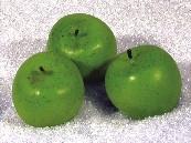 zelené jabĺčka, žeby na menovky:)))