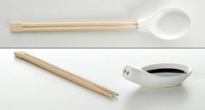 Konečne som pochopila, ako jedia aziati polievku paličkami :-)