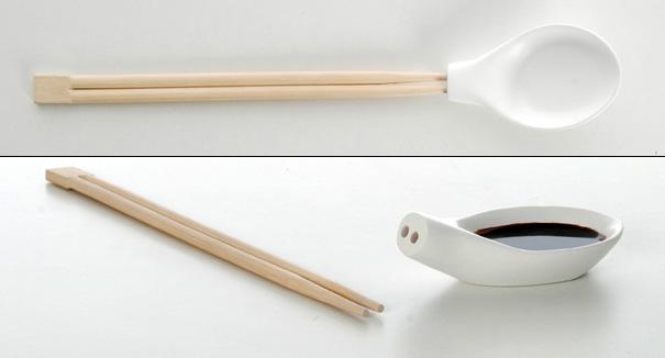Chuť na design alebo jednoduchosti sa medze nekladú - Konečne som pochopila, ako jedia aziati polievku paličkami :-)