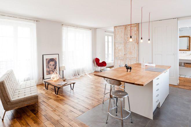 Zahraničné interiéry....a exteriéry - Parížsky apartmán