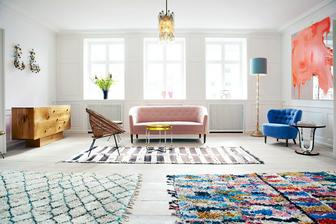 Tak toto je jeden nádherný farebný byt...netuším odkiaľ.